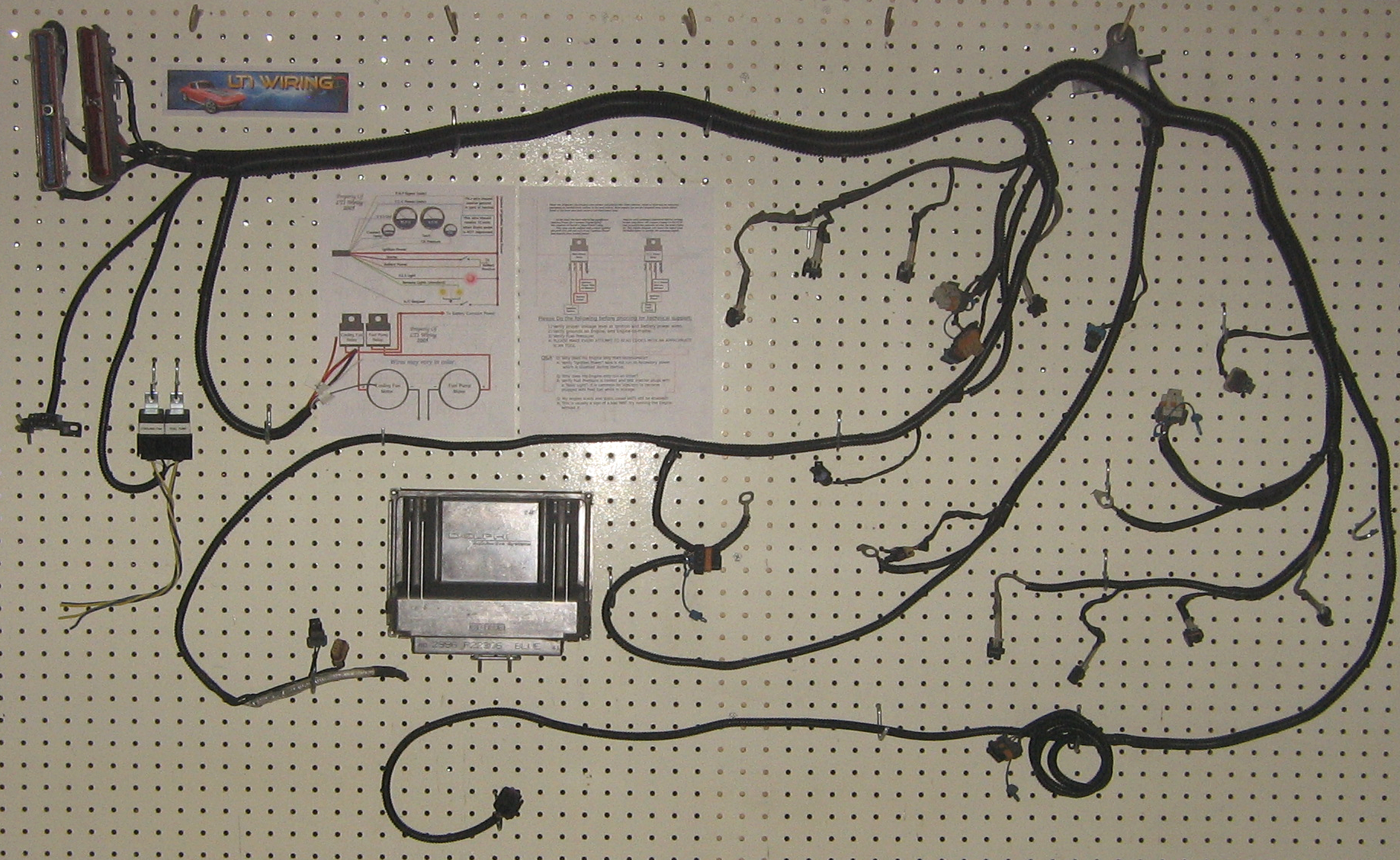 Standalone Wiring Harness Lt1 700r4 For Sale | Wiring Diagram on